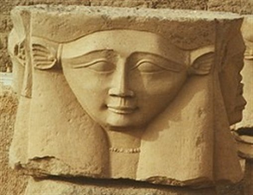 Hathor image for Decoration egyptienne murale