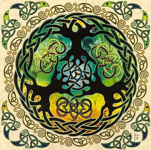 L'Arbre kabbalistique : les Séphiroth M-yggdrasilcard2