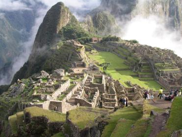 Cité de Machu Picchu sur le versant oriental des Andes centrales
