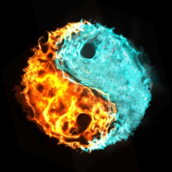 La Géomancie est basé sur le principe Le Yin et Yang