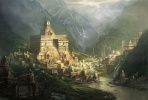 La grande cité légendaire de Shambhala