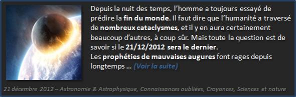 21/12/2012 fin du monde ou début d'un autre - Olivier Fargin