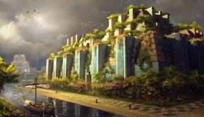 Jardins suspendus de Babylone