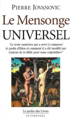 Livre - Le mensonde universel - Pierre Jovanovic