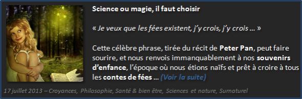 Je veux que les fées existent, j'y crois - Olivier Fargin