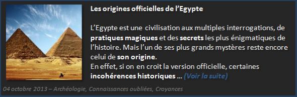 Les ancêtres bâtisseurs de l'Egypte - Olivier Fargin
