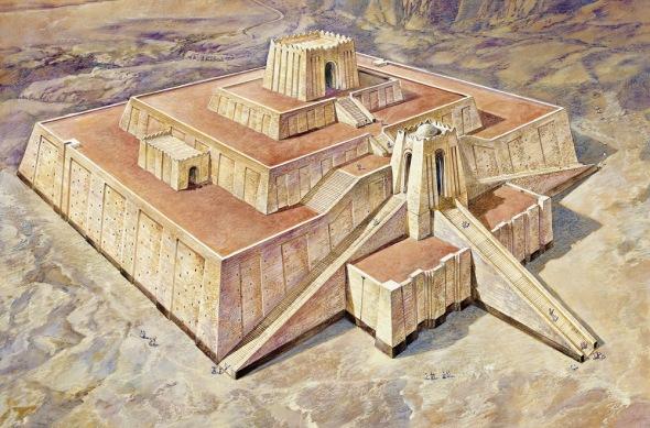 La Mésopotamie est à l'origine de nombreuses ziggourats