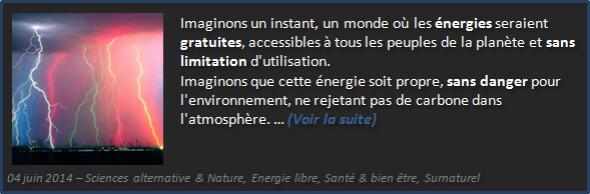 Energie Libre, Monde Libre - Olivier Fargin