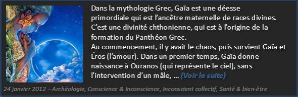 Le mythe de Gaïa - Olivier Fargin